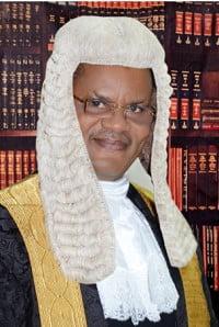 Sir (Elder). ABERETON A. Wilcox, SAN, LL.M, MCIArb (UK).